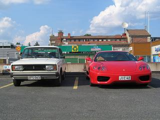 lada.vs.ferrari which one would you choose?
