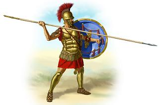 Hoplology is a term derived from Hoplos and Hoplites.